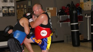 Adult Kickboxing Training
